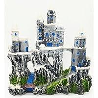 LDFN Aqua Paisajismo Resina Ornamento Accesorios Castillo De