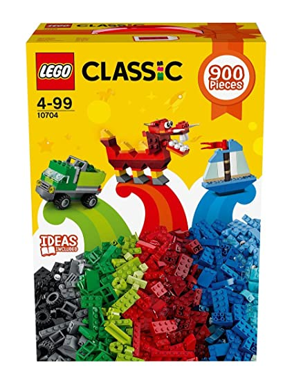 de72e26f228 LEGO Classic Creative Box 10704 (900 Pieces), Building Sets - Amazon Canada