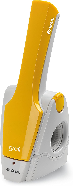 Grattugia Elettrica Formaggio Ariete Ricaricabile 447 Gratì 2.0 Arancio