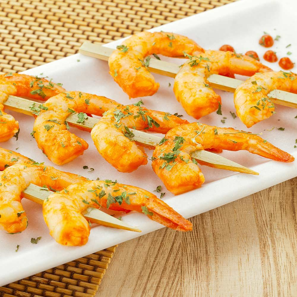 Bamboo Spear, Food Spear, Skewer Spear - 6'' - Great for Shrimp and Kabobs - 1000ct Box - Restaurantware by Restaurantware (Image #3)