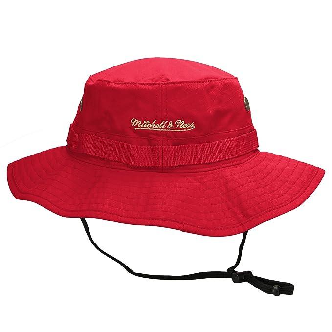 95c6a58ca Season Mitchell Ness San Francisco 49ers Boonie Bucket Hat