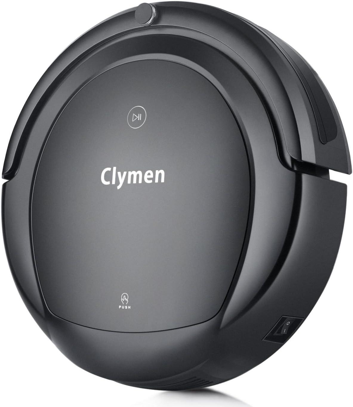 Clymen Q9 Robot Aspirateur Nettoyage 3 En 1 Avec Commandes