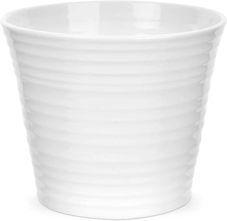 Portmeirion Sophie Conran White Flower Pot