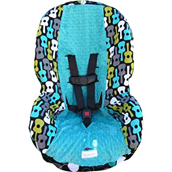 Astounding Amazon Com Groovy Guitar Lagoon Teal Toddler Car Seat Dailytribune Chair Design For Home Dailytribuneorg