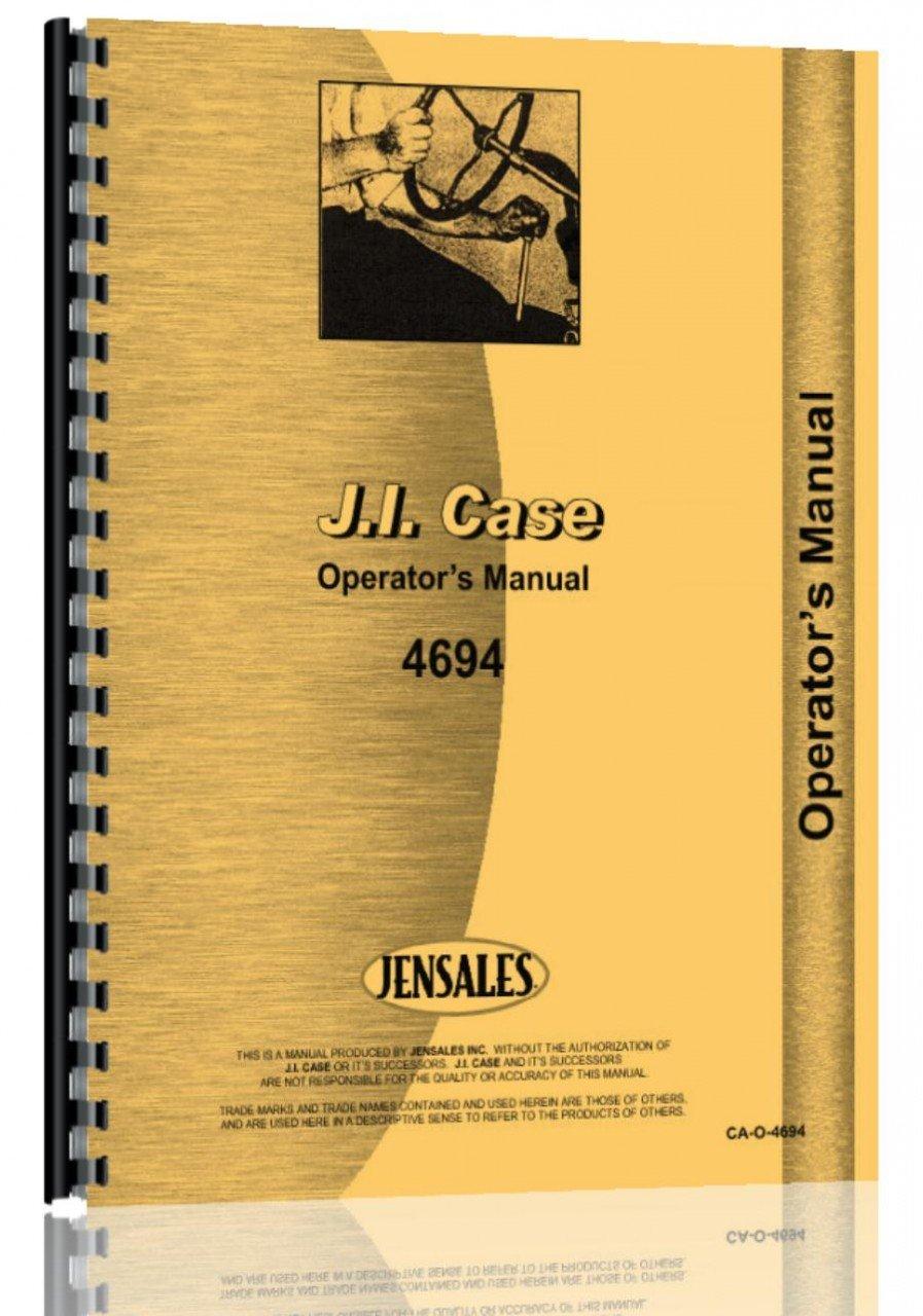 Download Case 4694 Tractor Operators Manual ebook