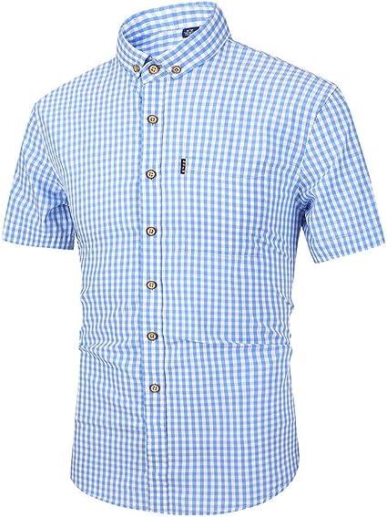 Camisas para hombre Camisa de vestir con botones para hombre ...