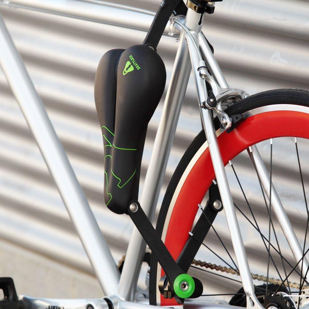 Seat ylock – Sillín de bicicleta & candado 2 en 1 (Trekking ...