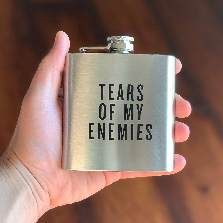 Damn Fine Flask 6オンス ステンレススチール おもしろメンズ バチェラー 男性へのギフト ウィスキー愛好家に