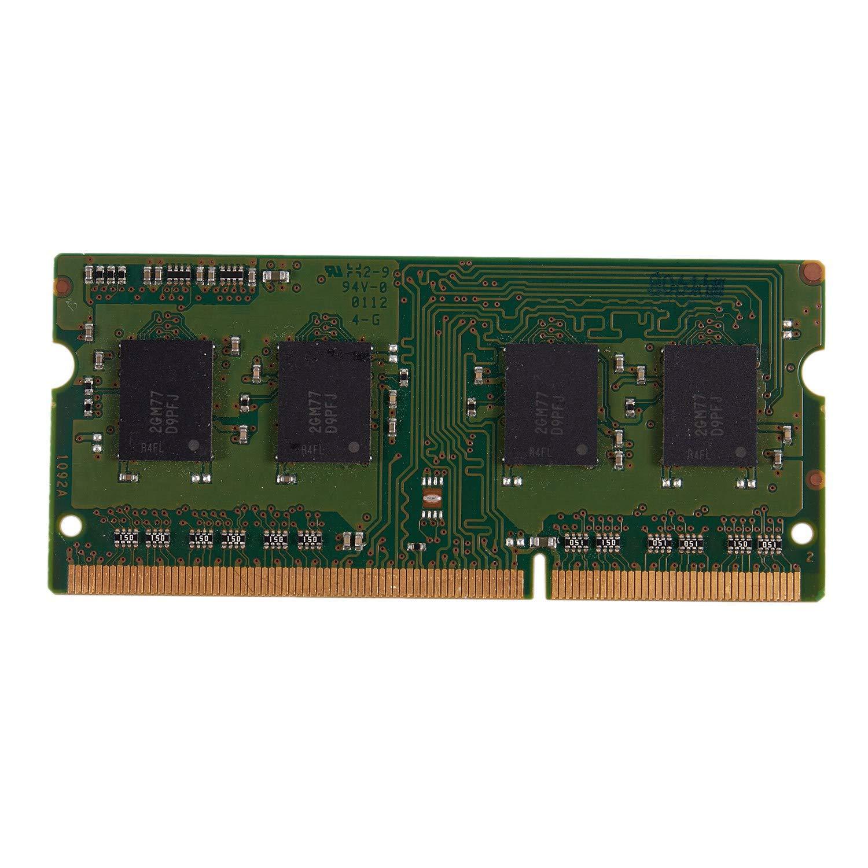 2GB // 1333 TOOGOO 2GB 4GB DDR3 1600Mhz 1333Mhz SO-DIMM DDR3L DDR3 1.35//1.5V Memoria Ram Memoria Sdram para Computadora Port/áTil