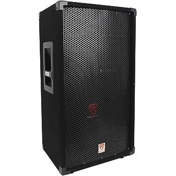 amazon com rockville rsg12 12 3 way 1000 watt 8 ohm passive dj pro rh amazon com