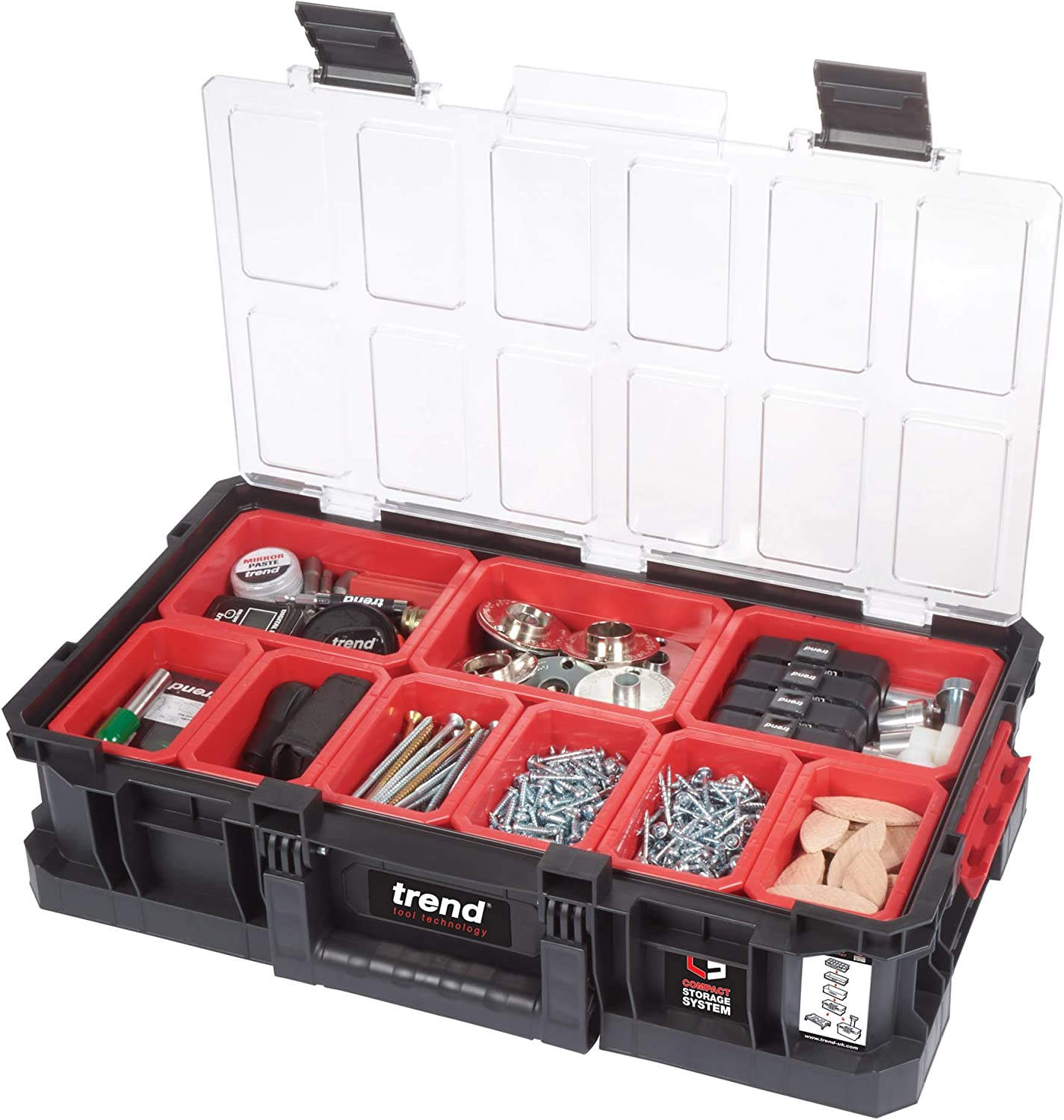 Trend Modular Storage Compact Tote 100mm