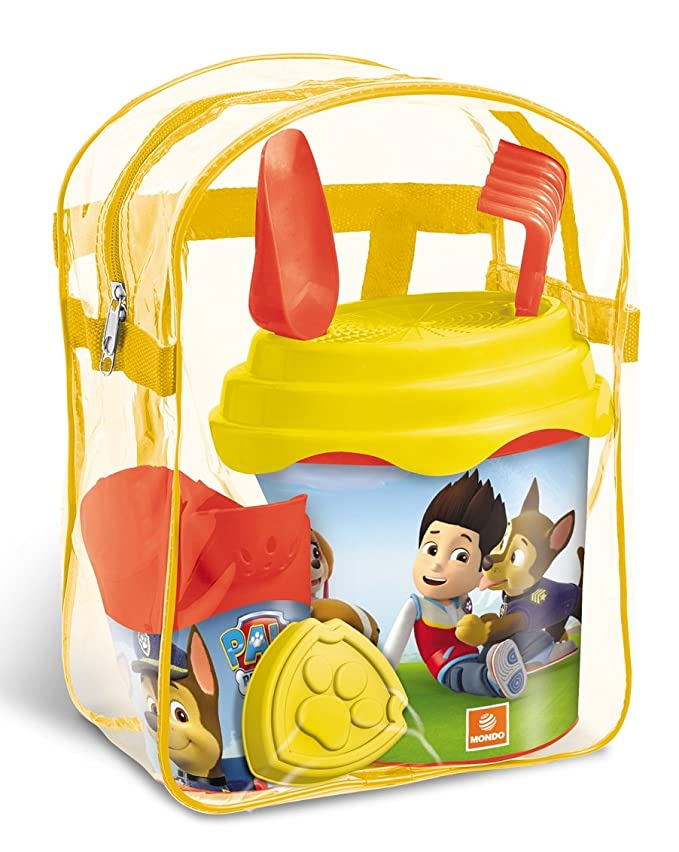 Mochila Cubo Playa Patrulla Canina Paw Patrol Skye Everest: Amazon ...