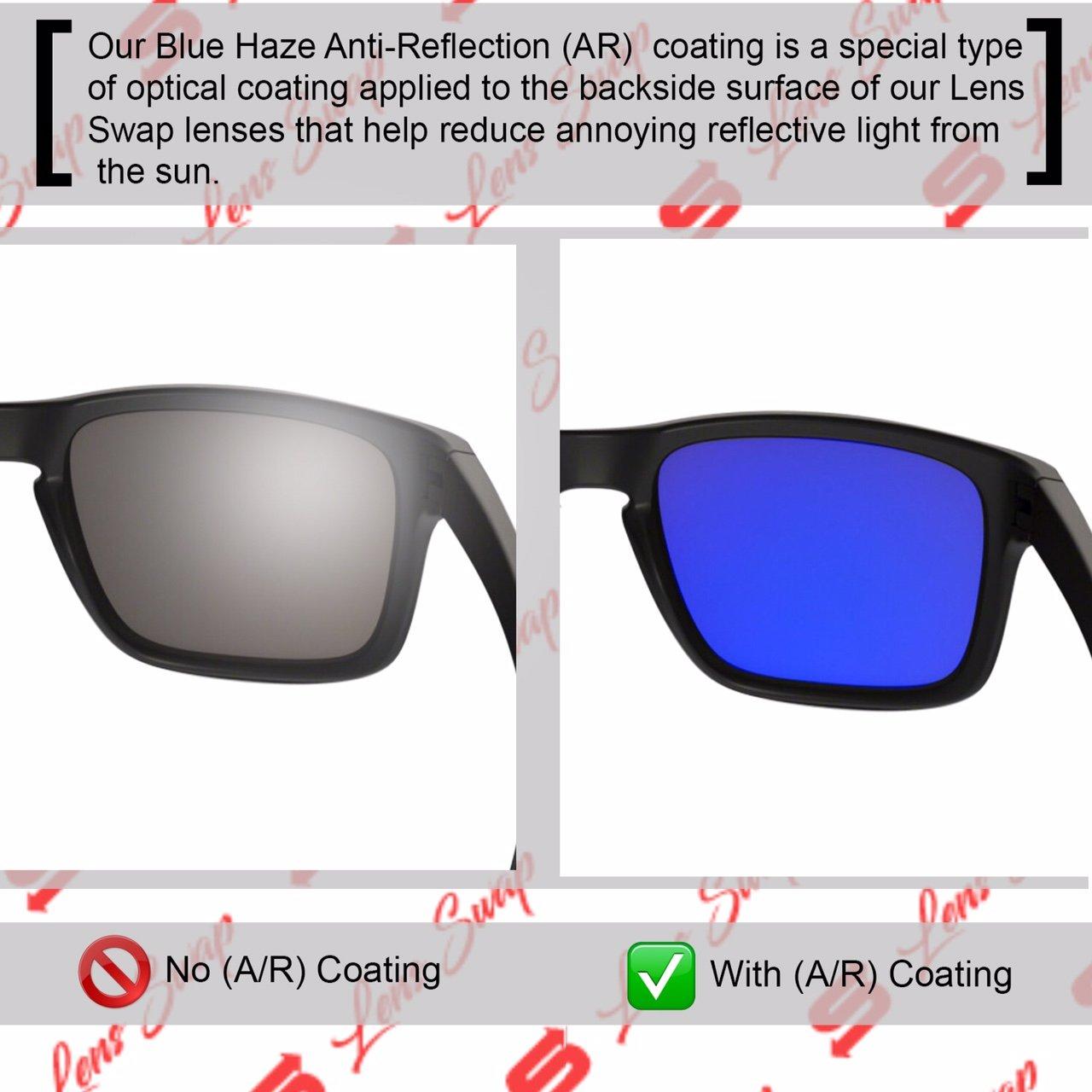 262efc7e68ec Amazon.com  Lens Swap Dark ICE Blue Oakley Holbrook Lenses Polarized  Quality   FITS Perfectly  Shoes