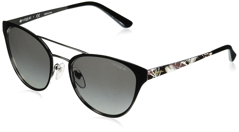 Amazon.com: Vogue Mujer, Metal, mujer Oval anteojos de sol ...
