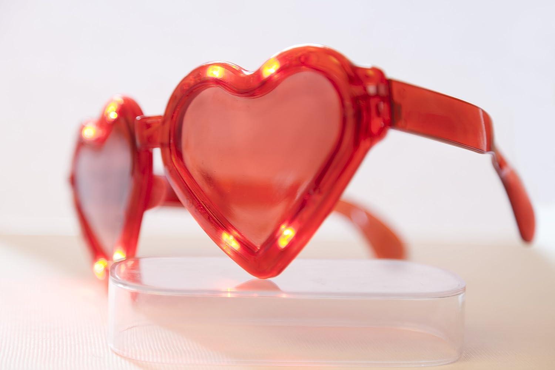 MULTI COLOUR LED GLASSES PARTY. BLINKING, FLASHING GLASSES NEO+