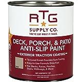 RTG Supply Co. Deck, Porch, Patio Anti-Slip Paint (Quart, Sand)