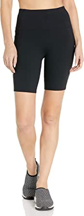 "Skechers Women's Walk Go Flex High Waisted 8"" Bike Shortwith Pockets"