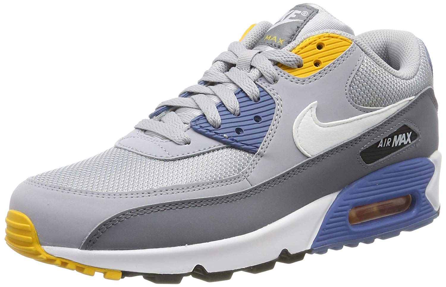 Galleon Nike Mens Air Max 90 Essential Running Shoes Wolf