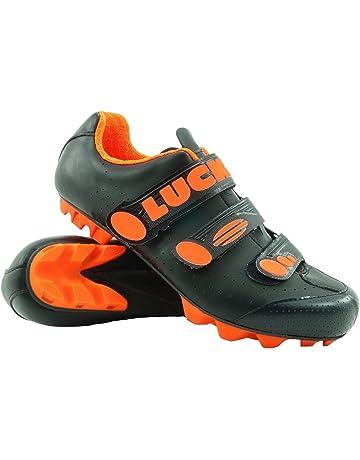 new product ef75f 37a79 LUCK Zapatillas de Ciclismo Matrix Revolution MTB, con una estupenda Suela  de Carbono Muy Ligera