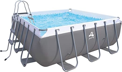 JILONG XL - Piscina Familiar (3 x 3 x 1 m, Estructura de Acero ...