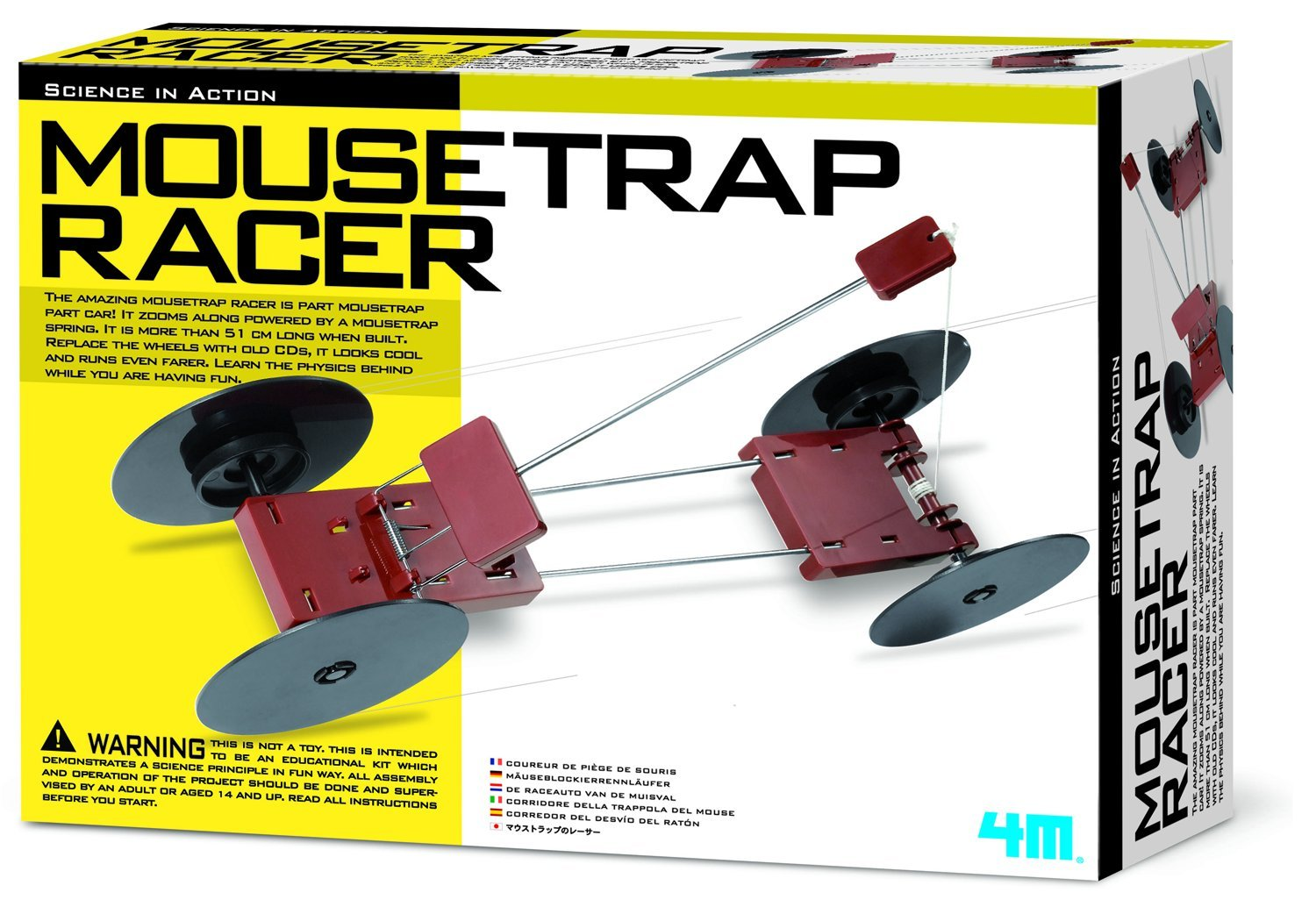 4m Mousetrap Racer Kit Toys Games
