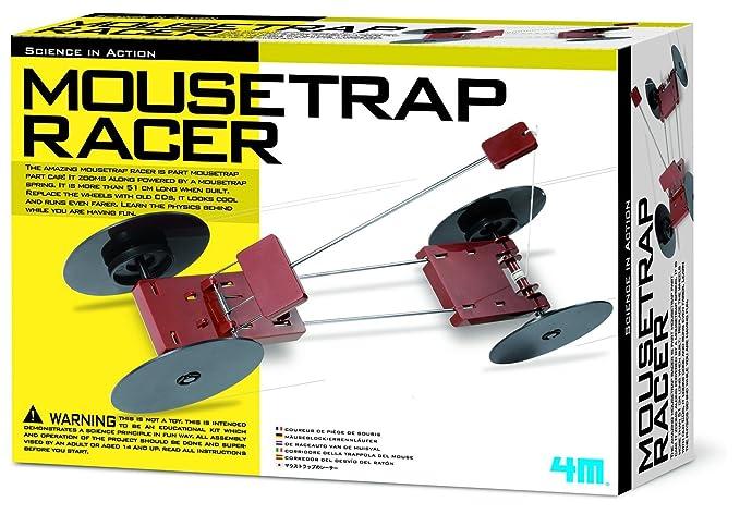 Amazon 4m Mousetrap Racer Kit Toys Games