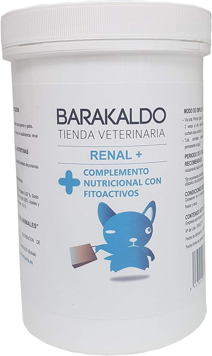 BARAKALDOVET Renal Plus 400 gr Barakaldo Vet Shop: Amazon.es ...