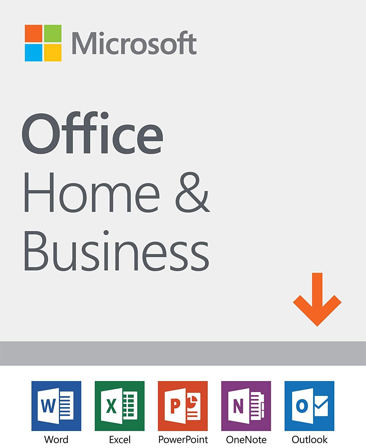 Microsoft Office Home and Business 2019 | 1 device, Windows 10 PC/Mac Download