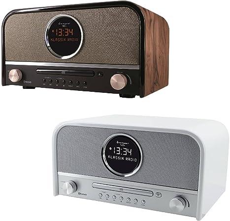 Soundmaster Nr850 Nostalgie Stereo Dab Radio Mit Cd Elektronik