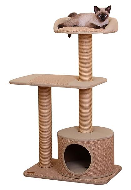 Piller   PetPals 3 Level Jute Made Cat Furniture; 22x15x39u0026quot;