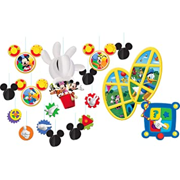 1 X Mickey Mouse Clubhouse Room Transformation Kit by Hallmark. Amazon com  1 X Mickey Mouse Clubhouse Room Transformation Kit by