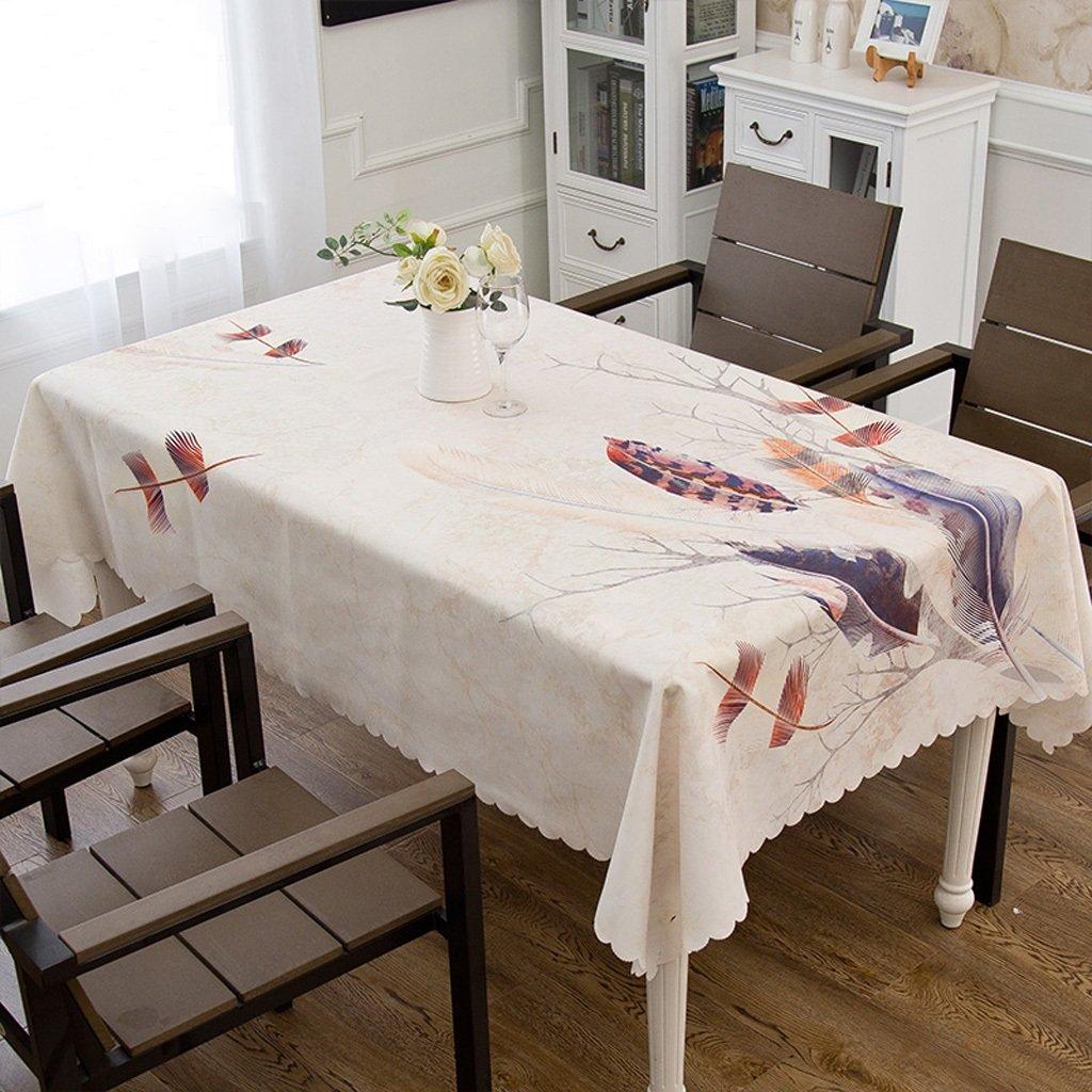 Nuevos productos de artículos novedosos. B DONG Mantel rectangular del poliéster, artículo a a a prueba de polvo impermeable lavable para las tablas de cena del restaurante los 200x140cm (Color   C)  disfruta ahorrando 30-50% de descuento