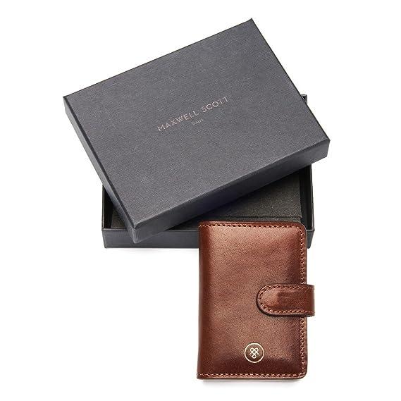 Amazon.com : Maxwell Scott Tan Leather Mini Pocket Agenda ...