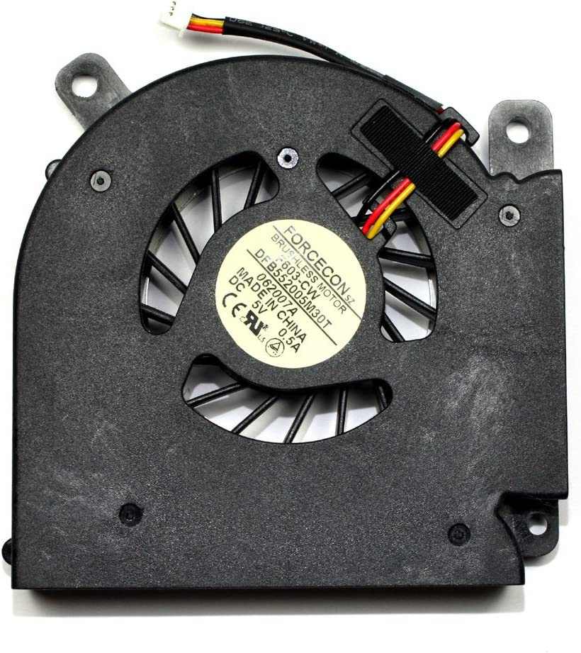 Power4Laptops Replacement Laptop Fan for Acer AB7505HB-HB3, Acer Aspire 3690, Acer Aspire 5610, Acer Aspire 5610AWLMI, Acer Aspire 5610Z
