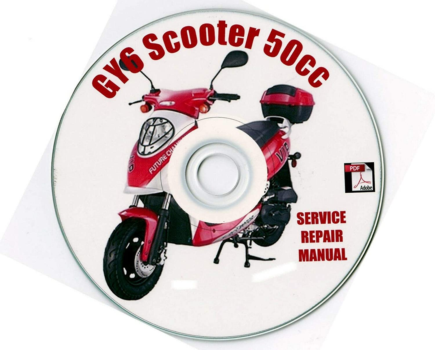 scooter Repair Service Manual 50cc GY6 Chinese /& Others