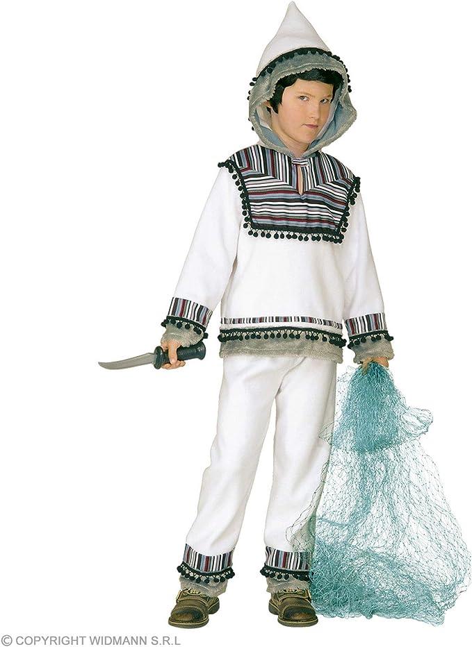 WIDMANN ? Disfraz de esquimal para niños (128 cm / 5-7 años ...
