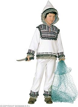WIDMANN wdm55727 ? Disfraz para niños esquimal (140 cm/8 ? 10 años ...