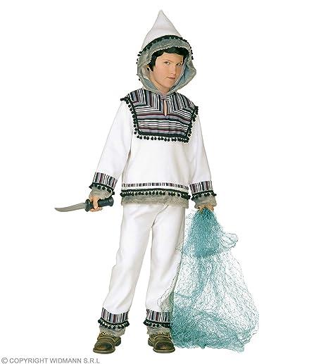 scarpe temperamento ampia selezione di design prezzo favorevole WIDMANN WDM55727 - Costume Per Bambini Eschimese (140 cm/8 ...