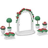 Calico Critters, Town Series, Furniture Sets, Doll House Furniture, Calico Critters Floral Garden Set