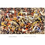 Convergence Art Print by Jackson Pollock 40 x 28in