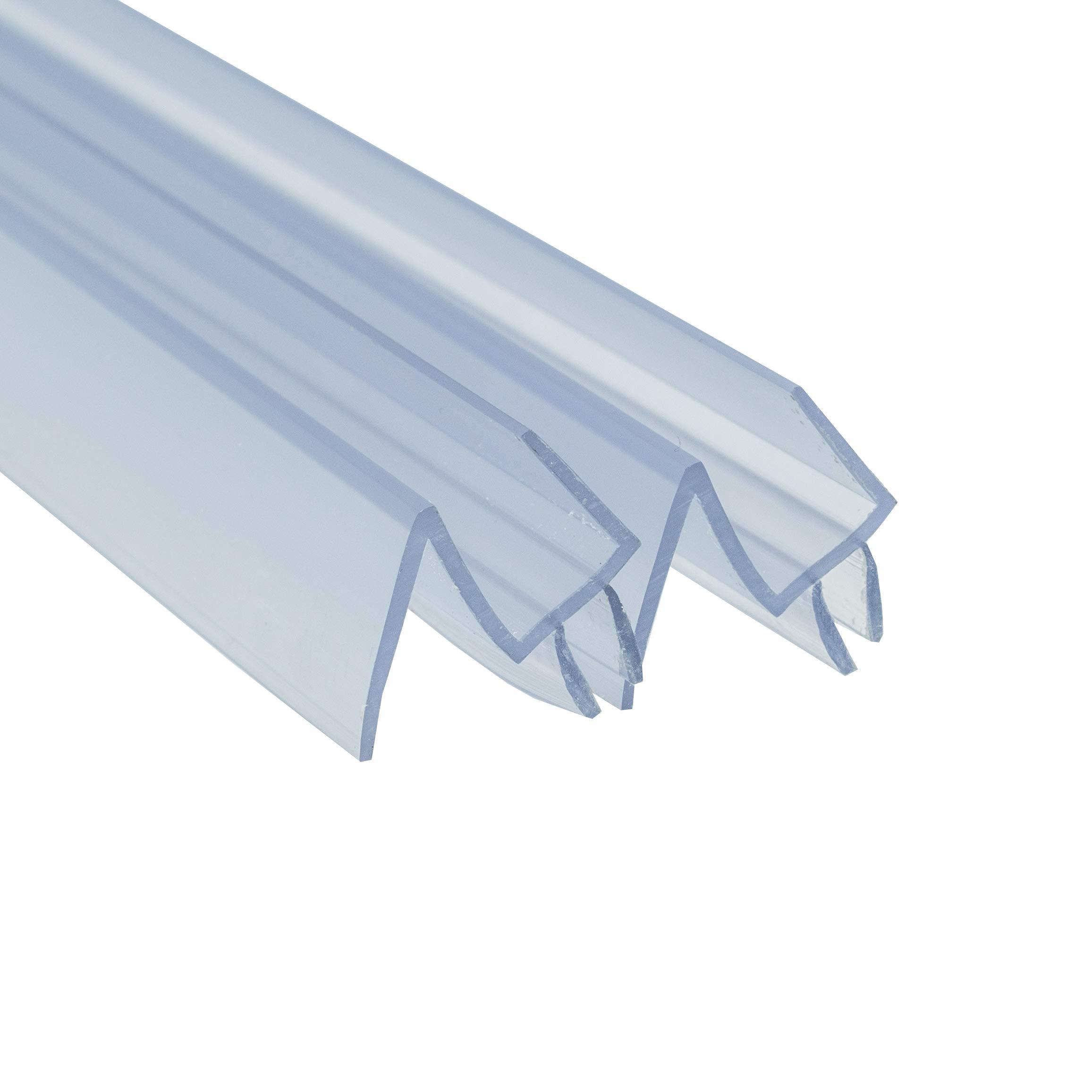 Frameless Shower Door Bottom Seal Sweep 2 Pack Made In Usa 3 8 In