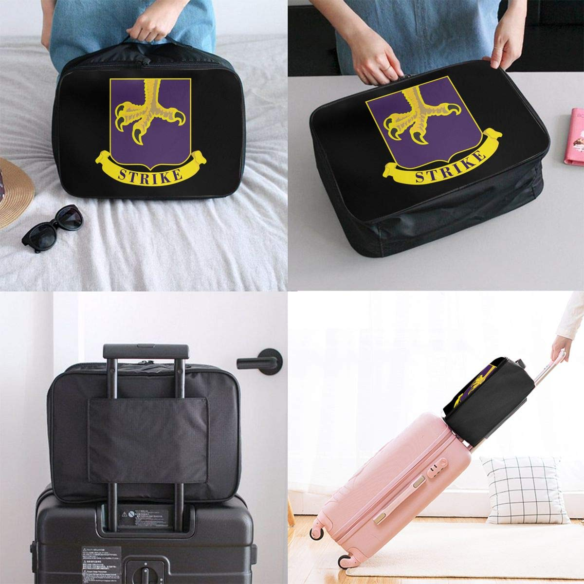 502nd Parachute Regiment Travel Carry Luggage Duffle Tote Bag