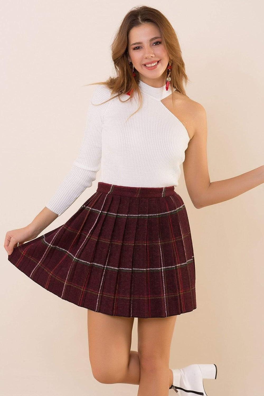 Fashion Under Arrest (FUA) - Falda de Forro Polar para Mujer ...