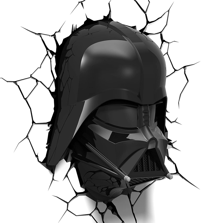 Amazon 3dlightfx Star Wars Darth Vader Helmet 3d Deco Light