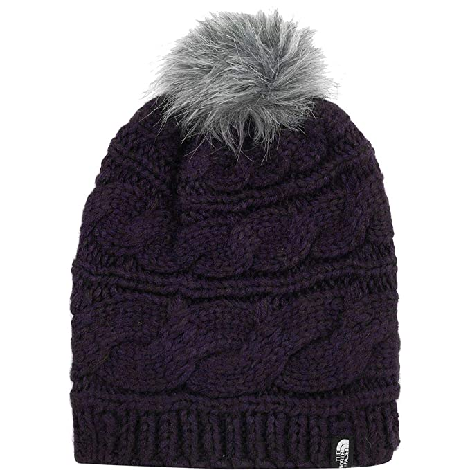 9af9ae80c The North Face Triple Cable Fur Pom