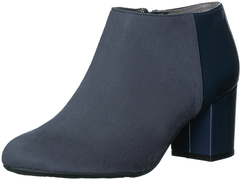 LifeStride Women's Parigi Ankle Bootie B06XQBH9TT 9.5 B(M) US|Lux Navy