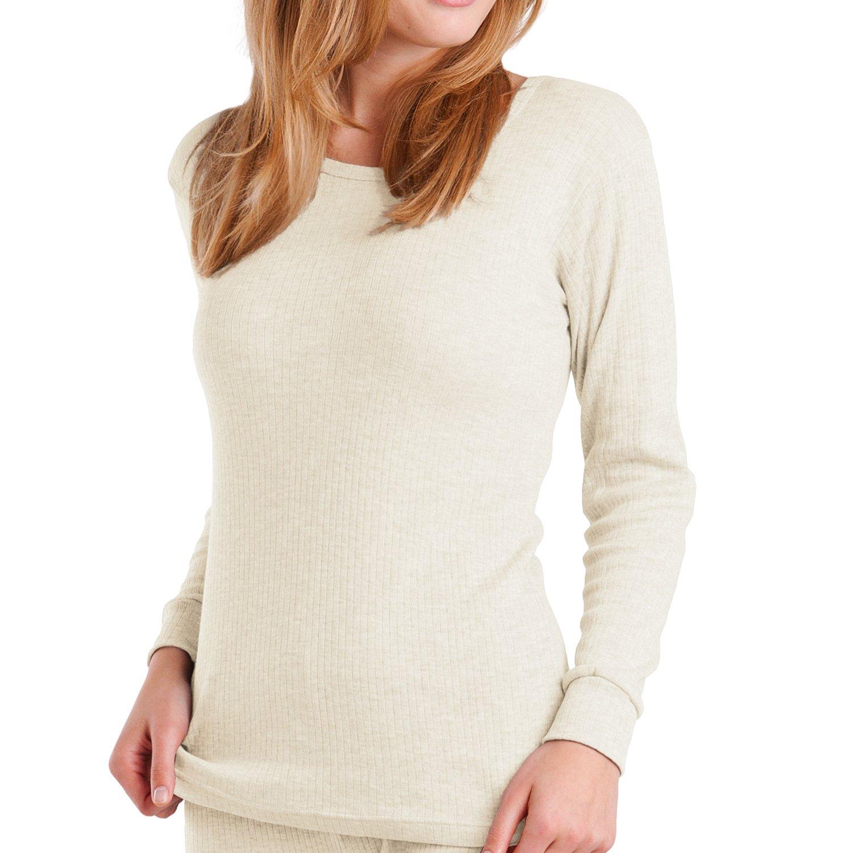 Original MT® Damen Thermo Langarmhemd - warm, weich und atmungsaktiv - 3 Farben zur Auswahl - von celodoro