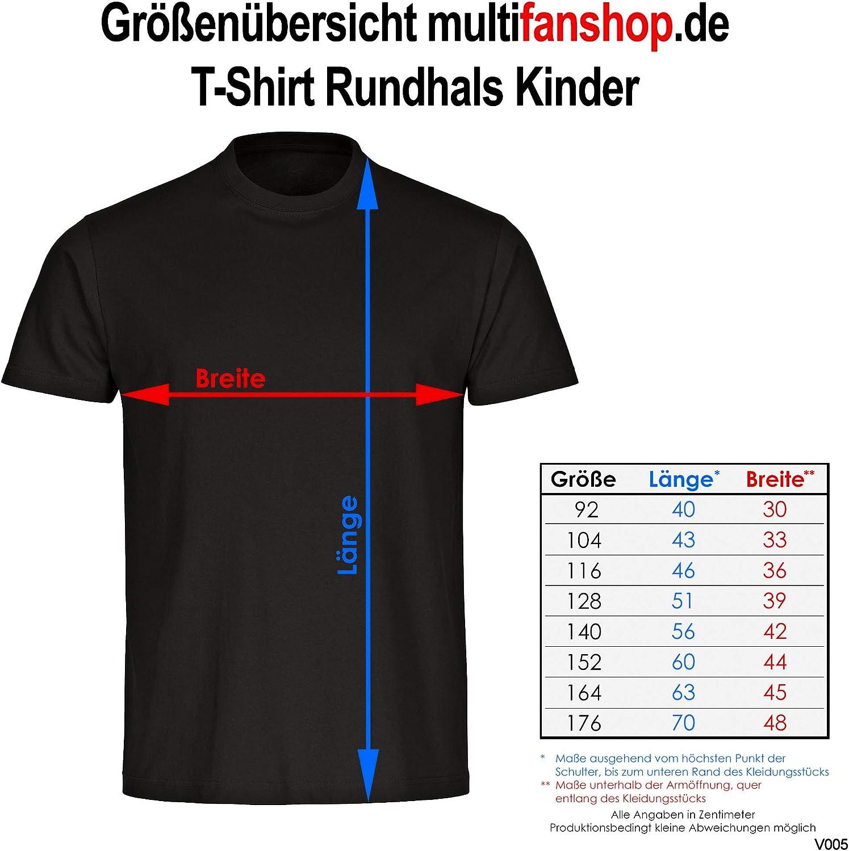 Fanshirt Fanartikel Fanshop Trikot Fu/ßball EM WM Germany 128-178 T-Shirt Deutschland Trikot Adler seitlich Kinder schwarz Gr
