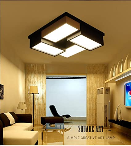 STTS Led Ceiling Lamp Modern Simple Warm Romantic Master Bedroom Room  Living Room Lights Creative Personality
