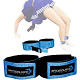 Myosource Kinetic Bands Tumble Pro X Ankle Straps for Cheerleading and Gymnastics Tumble Training